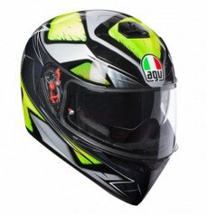 AGV K3-SV LIQUEFY GREY YELLOW FLUO
