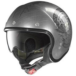 NOLAN N21 VISOR SPEED JUNKIES SCR. CHROME