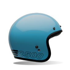 BELL Custom 500 Retro Blue